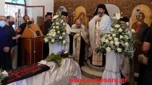 Κηδεύτηκε στην Ιερά Μονή Παναγίας Καλυβιανής η Γερόντισσα Γαλακτία