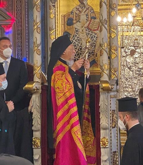Εσπερινός επί τη εορτή των Αγίων Αποστόλων Βαρθολομαίου και Βαρνάβα | orthodoxia.online | βαρθολομαιου βαρναβα | βαρθολομαιου βαρναβα | ΕΚΚΛΗΣΙΑ | orthodoxia.online