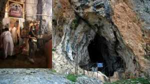 Στο σπήλαιο της Αγίας Φωτεινής με το θαυματουργό αγίασμα (ΦΩΤΟ & ΒΙΝΤΕΟ)