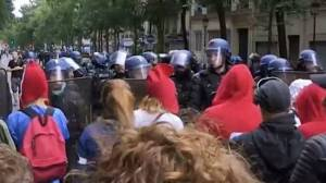 Διαδήλωση κατά των μέτρων Μακρόν