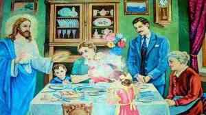 Η μεσημεριανή προσευχή του φαγητού όπως την έκανε ο Άγιος Παΐσιος