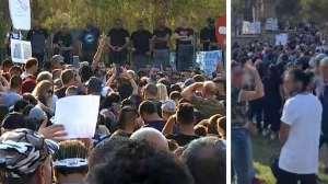Παγκύπρια εκδήλωση διαμαρτυρίας ενάντια στα μέτρα