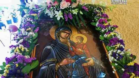 Σε κλίμα κατάνυξης εορτάσθηκε η Κοίμηση της Αγίας Άννας στο Τημένιο Αργολίδας
