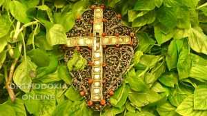 Η Ύψωση του Τιμίου Σταυρού στην Μονή της Αγίας Αναστασίας της Φαρμακολυτρίας