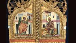 Στην Εκκλησία της Κύπρου τα λεηλατημένα βημόθυρα της κατεχόμενης εκκλησίας του Αγίου Αναστασίου Περιστερωνοπηγής