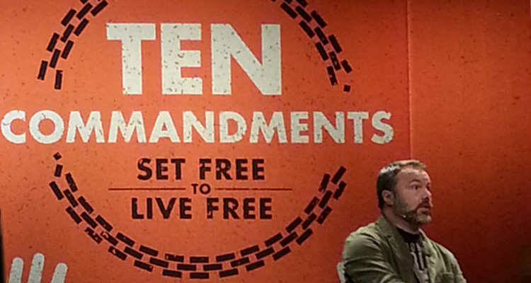 Mark Driscoll preaching on the Ten Commandments at Mars Hill Church