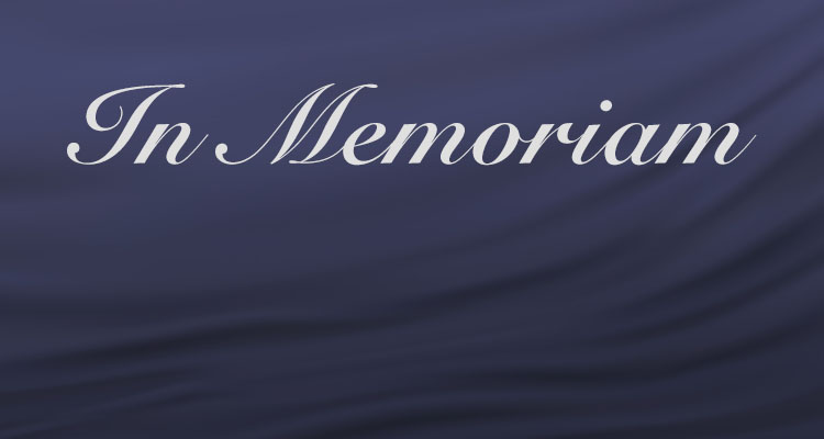 In Memoriam graphic