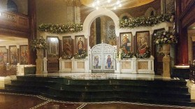 New iconostasis at Kensington Cathedral