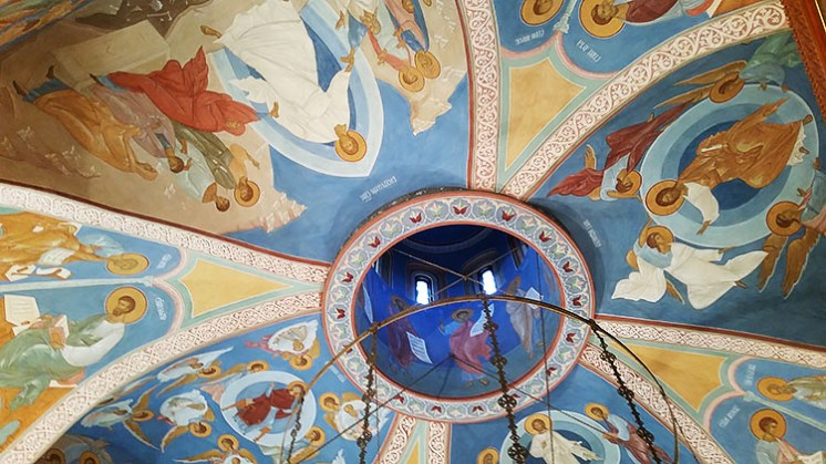 New frescoes at Chiswick cathedral