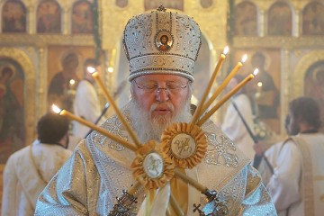 Metropolitan Hilarion, First Hierarch of the Russian Orthodox Church Outside of Russia