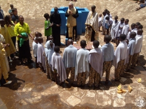 Baptism by Orthodox Metropolitan
