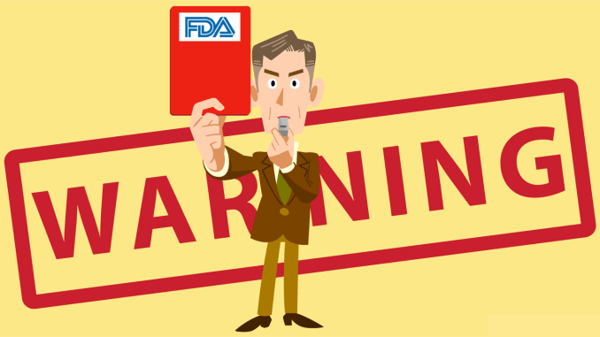 Zimmer Biomet received a warning letter from FDA related to its ongoing quality control issues.