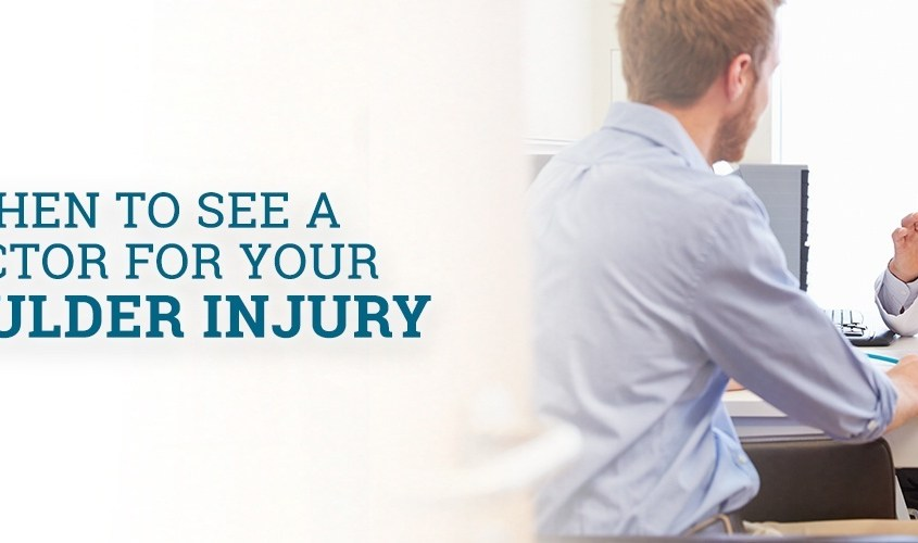 When to See a Doctor for Your Shoulder Injury