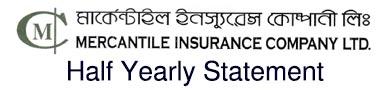 mercantile Insurance co.ltd. Half Yearly Statement