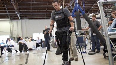 Photo of Robotics company Ekso helps disabled walk