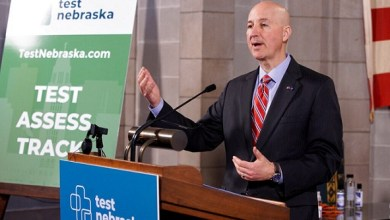 Photo of Governor pushes back on criticism of TestNebraska contract