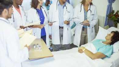 Photo of Medical students pass the pandemic test
