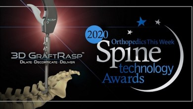 Photo of SurGenTec's 3D GraftRasp™ Awarded Best Spine Technology for 2020