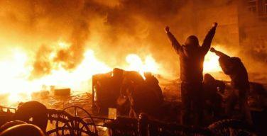 Как начинаются и заканчиваются «мирные» протесты…