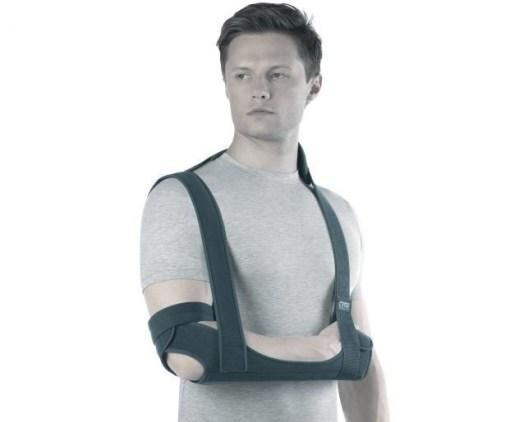 Бандаж на плечевой сустав с ребрами жесткости (поддерживающая повязка) Арт. TSU 233