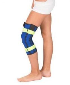 Бандаж Детский на коленный сустав с пружинными ребрами жесткости Арт. Т-8530