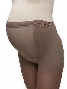 Колготки компрессионные Ergoforma UP для беременных 1 класса компрессии с закрытым носком, бронзовые EU 113