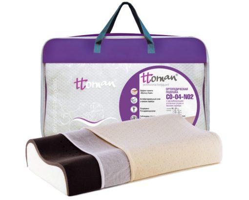 Подушка двухслойная (карбоновый слой с ионами серебра) Арт. CO-04-NO.2(12/10)