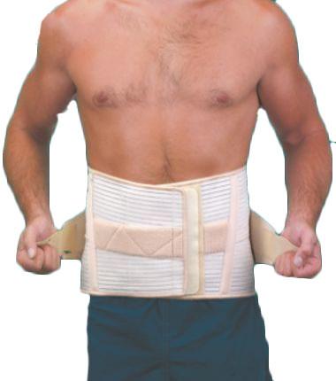 Корсет ортопедический поясн.-крестцовый 4 металлических ребра жесткости (выс. 24 см) ФСП