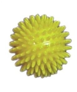 Массажный мяч желтый ОРТОСИЛА Арт. L 0108, диам. 8 см