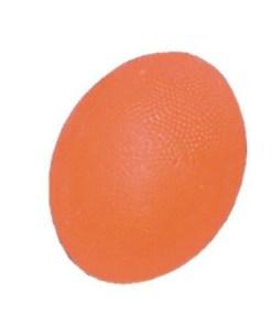Мяч для тренировки кисти яйцевидной формы мягкий оранжевый ОРТОСИЛА Арт. L 0300S