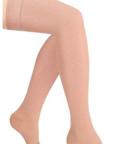 Чулки компрессионные Luomma Idealista ID-310, с открытым носком