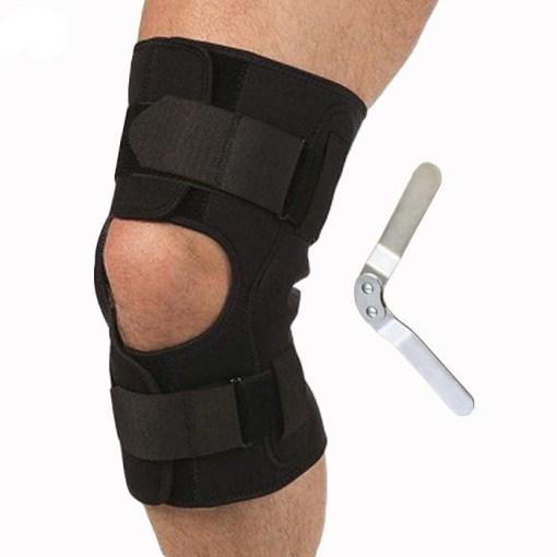 Бандаж на коленный сустав разъемный с полицентрическими шарнирами Арт. Т-8518