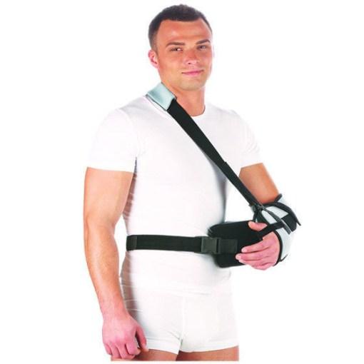 Бандаж на плечевой сустав фиксирующий с абдукционной подушкой Арт. Т-8106