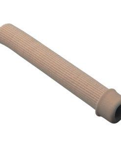 Трубочка силиконовая для пальцев стопы с тканевым покрытием Арт. 170