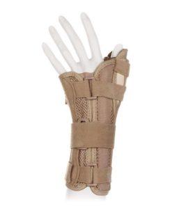Бандаж на лучезапястный сустав с фиксацией большого пальца, на левую руку Арт. WS-ST left