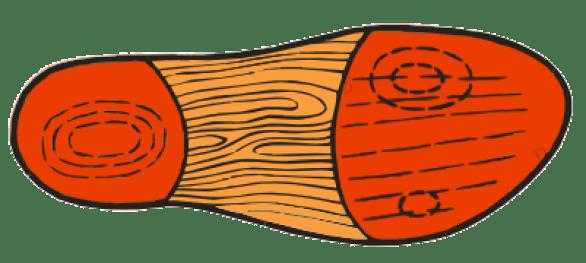 ВП-10. Изделия с углублением под пятку и продольный свод защищают от формирования мозолей, натоптышей в сочетании с вальгусом.