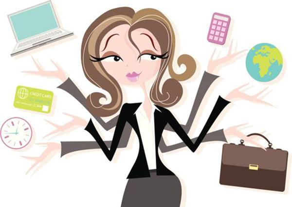 mulher-multitarefas