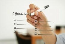Checklist ortodontia