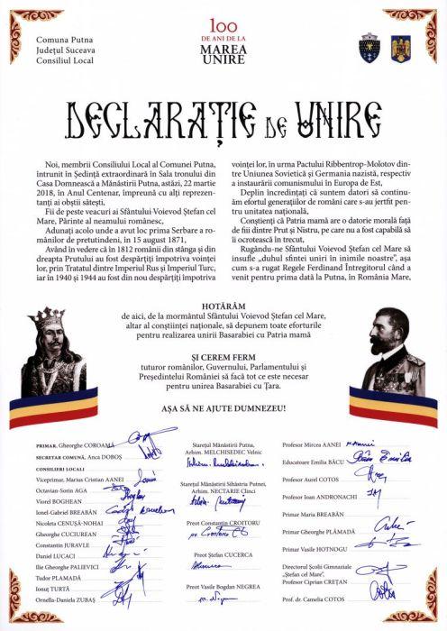 Act-simbolic-la-Mănăstirea-Putna-A-fost-semnată-o-Declarație-de-Unire-cu-Basarabia-FOTO-VIDEO-5