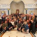 În contextul pelerinajului anual în Țara Sfântă, delegația Bisericii Ortodoxe din Moldova a fost primită de către Preafericitul Teofilos al III-lea, Patriarhul Ierusalimului