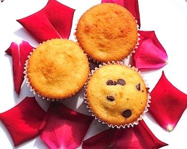 Plumcake a forma di muffin
