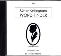 The Orton-Gillingham Word Finder