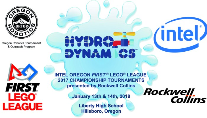 Intel Oregon FIRST LEGO League Championships