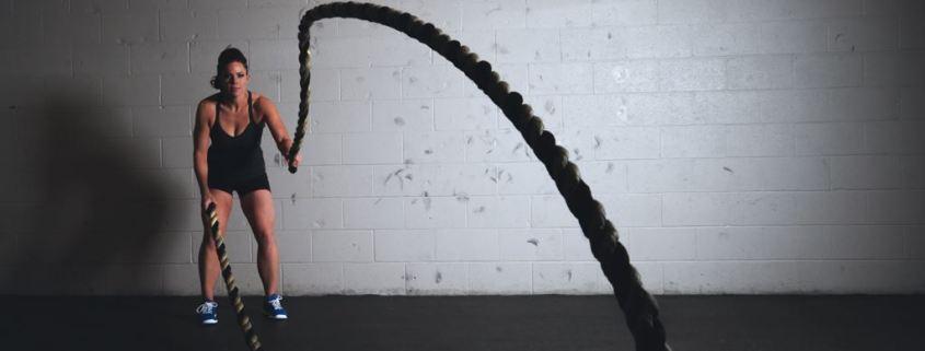 Exercícios com cordas no crossfit