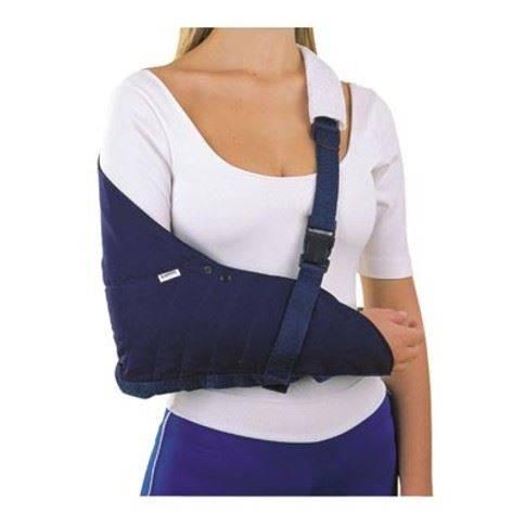 pacientes com fratura no ombro são imobilizados com uma tipoia tipo Velpeau por 1 mês.