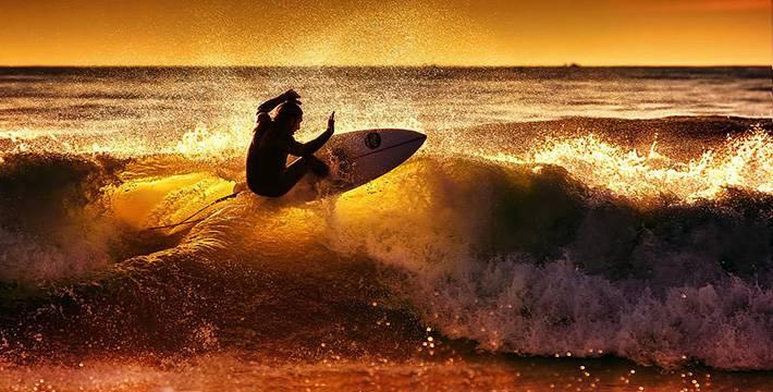 Surf se transformou em esporte olímpico