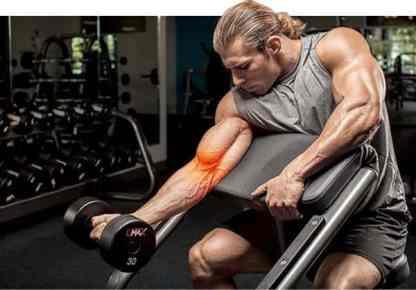 tendinite do bíceps distal é o processo inflamatório do tendão do músculo biceps na região do cotovelo