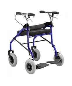 Andador com assento Jaguaribe - Ortopedia Online SP