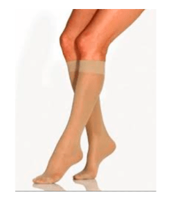 Jobst Opaque feminina - Meia de compressão 15-20mmHg - Ortopedia Online SP