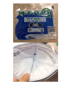 Máscara de Proteção Descartável PFF2 ( N95 ) - Ortopedia Online SP